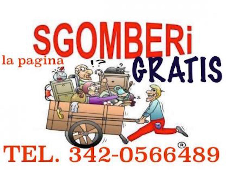 Svuota Appartamenti Gratis Firenze sgomberi gratis misterbianco , tel 342-0566489 - imprese
