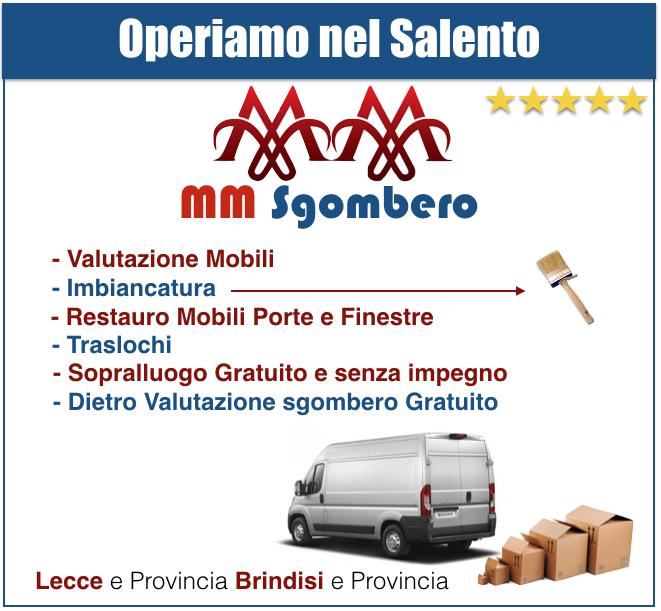 RITIRO MOBILI USATI OTRANTO « Sgombero Cantine Gratis Prezzi Costi ...